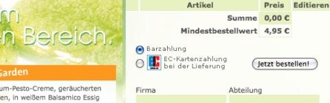 © Screenshot joeys.de