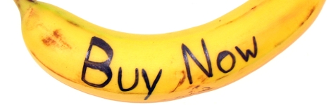 """Banane """"buy now"""""""