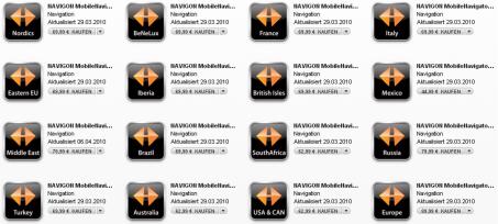 App-Store - Navigon-Angebot
