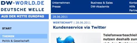 Deutsche Welle lässt sich von kundenkunde.de inspirieren