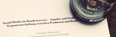 © kundenkunde.de - Bachelorarbeit fertig, darauf ein Bier!